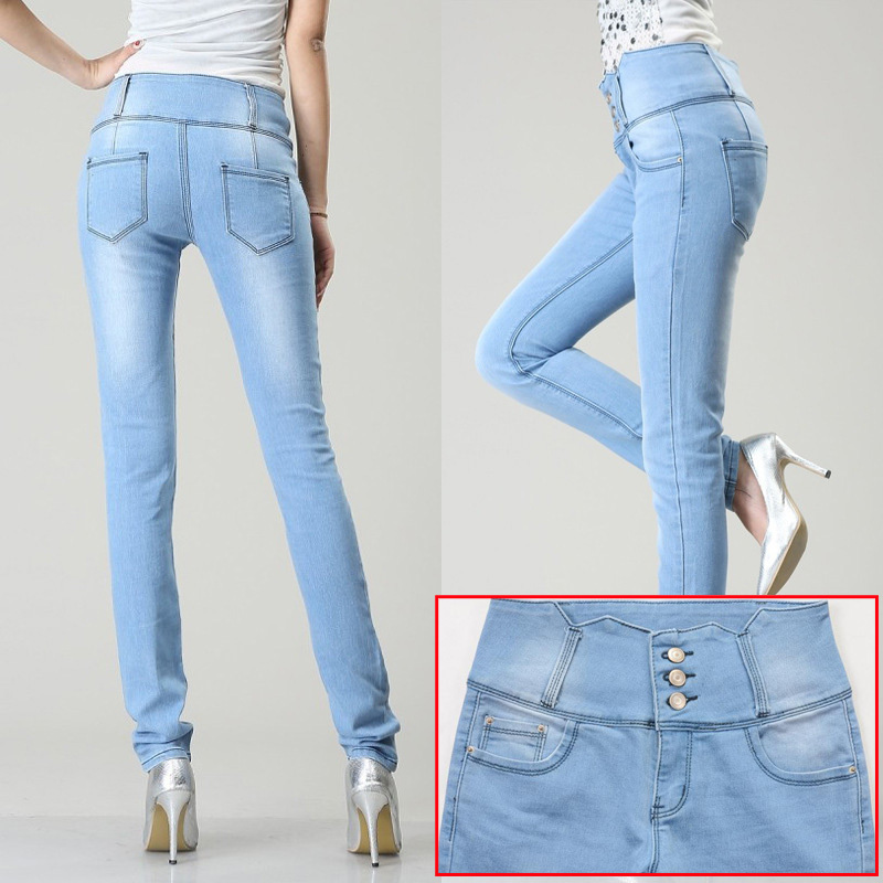 Innovative 2014 Overalls Jeans Denim Bib Pants Women Spaghetti Strap Slim Jeans