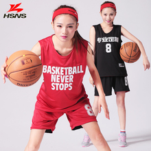 Reversible Womens Basketball Jersey Set Short Girl Double-sided Sportwear Basketball Training Suit Jersey Quick Dry Custom LOGO(China (Mainland))