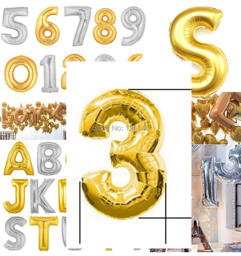 2014 limited real decorations gifts gold foil number 3 for Number 3 decorations