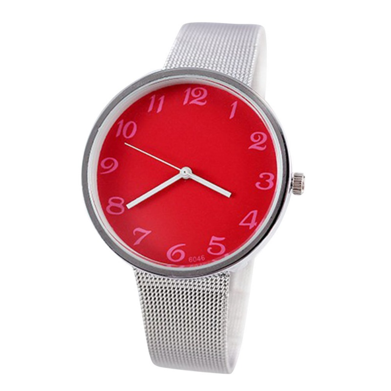 Wholesale Unisex Men Women Metal Iron Net Web Mesh Band Fashion Simple Quartz Wrist Watch Hours<br><br>Aliexpress