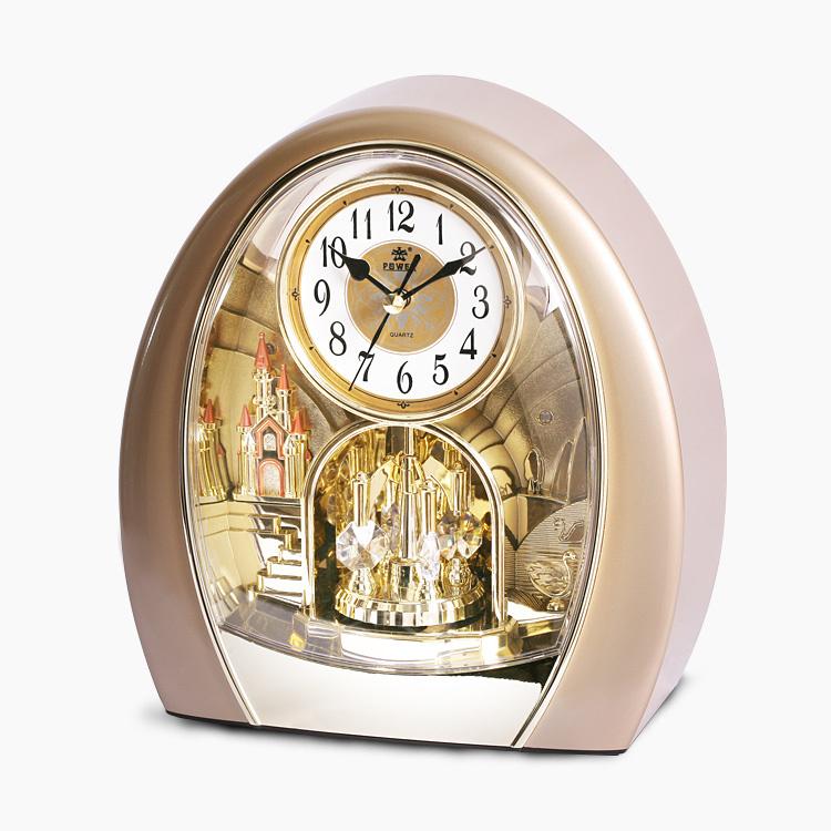 Home Decor desk clock Modern Design Decorative table Clocks 3d Clock Watch Vintage Needle Quartz European style POWER4211(China (Mainland))