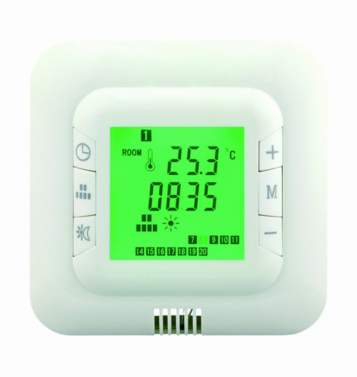 Гаджет  Digital Programmable underfloor heating Thermostat Room Controller Floor &Air Sensor 16A None Строительство и Недвижимость