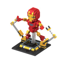 Iron Man Action Figures Model Newest Super Heroes Cartoon Anime Characters Best Mini Assembled Toys Gift Present For Children