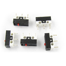 UXCELL Laptop Computer Mouse Subminimature Micro Limit Switch 5 Pcs(China (Mainland))