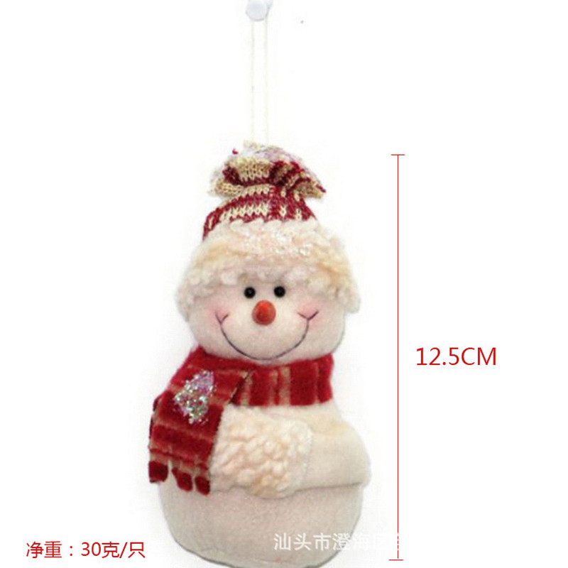 mueca del mueco de nieve del copo de nieve boneco de natal ao nuevo decoracin de pap noel barato gadgets muec