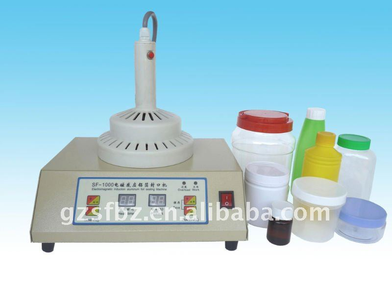 Manual induction sealer large bottle
