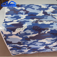 Buy Blue Jumbo Camo Car Scooter Vinyl Wrap Urban Sticker Bomb Camouflage Printed Graphics Pvc Material Roll Sheet for $8.59 in AliExpress store