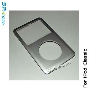 For Apple iPod Classic 6th 7th Gen Front Cover Panel Face Plate Silver Replacement Part New(China (Mainland))