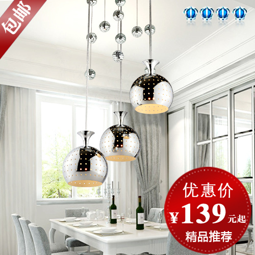 Здесь можно купить  free shopping, Modern fashion pendant light restaurant lamp bar lamps 9300 - 3  Свет и освещение