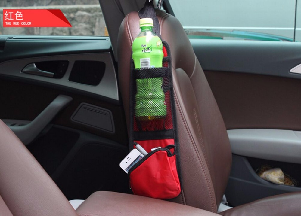 Car Seat Side Back Storage Pocket Backseat Storage Bags for Nissan Teana X-Trail Qashqai Livina Sylphy Tiida Sunny March Murano(China (Mainland))