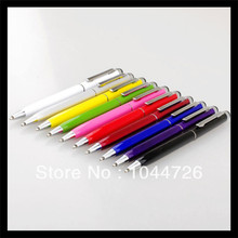 High quality 2 in 1 ball point Stylus Touch Pen for Ipad Itouch Iphone 3/4G/4S for Cellphone Mobile Tablet PC 200pcs/lot(China (Mainland))