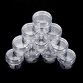 10Pcs 5g Cosmetic Empty Jar Pot Eyeshadow Makeup Face Cream Container Bottle Acrylic for Creams Skin