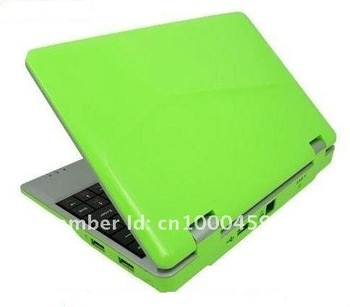 wholesale,2pcs/lot,7 inch laptop,Mini Notebook ,WIFI,camera,support flash 10.1,DHL/EMS free Shipping