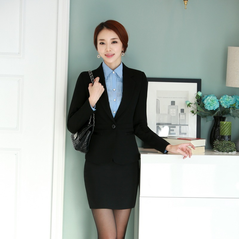 women business suits with skirt and jacket sets ladies office suits