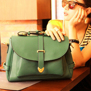 2015 Promotion Women Shoulder Bags NEW Fashion All-match Candy Classic Vintage Crossbody PU Leather Messenger bag women Handbags(China (Mainland))