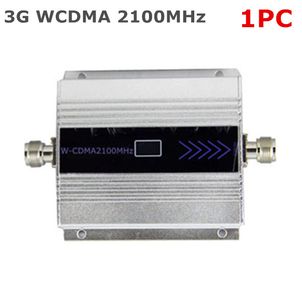 1PC LCD House Office WCDMA UMTS 3G 2100MHz Cell Phone Signal Booster Signal Repeater Mobile Phone Amplifier Enhancer(China (Mainland))