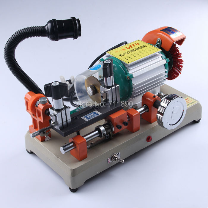 DF-2AS 110v Car key cutting machine.house key cutting machine.horizotal key cutter.(China (Mainland))