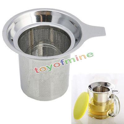 Mesh Tea Infuser Reusable Strainer Loose Stainless Steel Tea Leaf Spice Filter(China (Mainland))