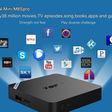 Nueva S905 T95N Mini M8S Pro Android TV Box Quad Core Bluetooth Wifi Kodi 16.0 2G 8G DDR3 de Memoria Smart Set top Box Máster Erasmus Mundus