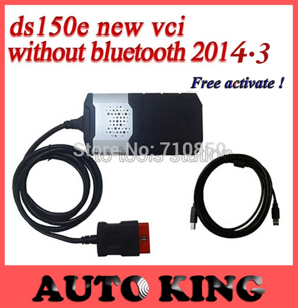 2014.3 software+ Free activate ! Newest for TCS CDP pro With new vci ds150e DS150 cdp PRO COM 3 in1 CARs + TRUCKs  --ship free(China (Mainland))