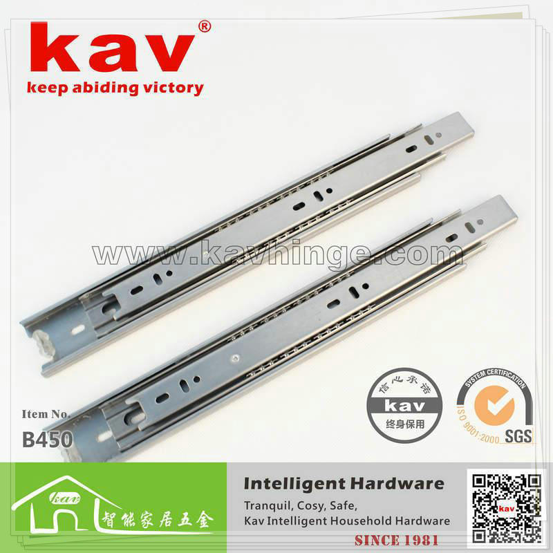 product  Manufacturers  kav brand 32 years back is not rusty rails 45 three sections wide stainless steel rails B450 single faucet