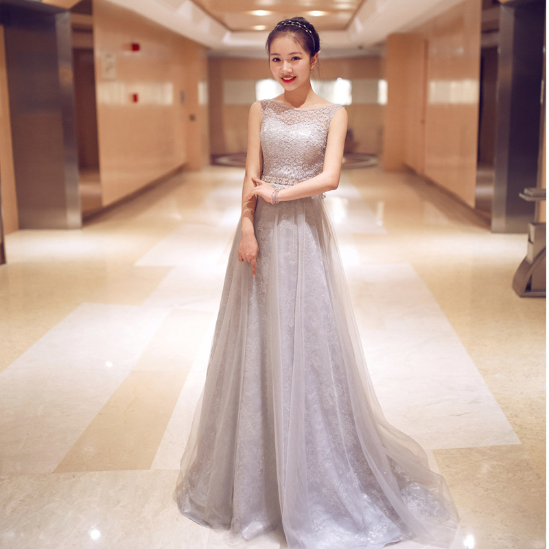2015 new fashion lace evening gowns party dresses women for Tj maxx wedding guest dresses