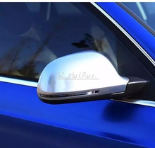 Buy 1 pair For Audi Q3 A4 A6 A5 A8 matt chrome mirror case rearview mirror cover shell for $84.15 in AliExpress store