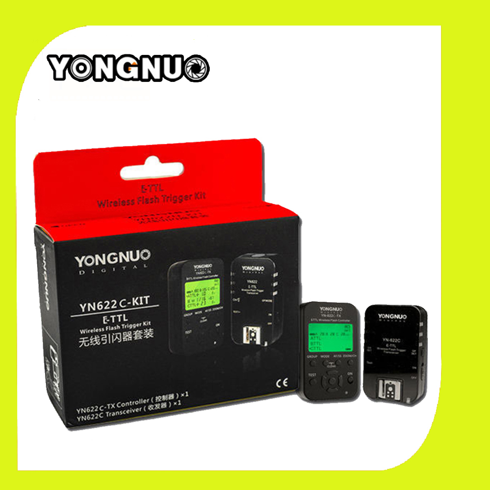 Yongnuo YN622C-TX Transmitter Controller & YN622C Transceiver Wireless i-TTL Flash Trigger Kit YN-622C-KIT For Canon DSLR(China (Mainland))