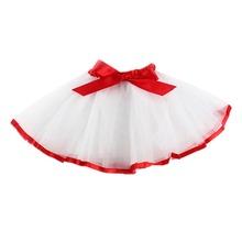 Baby Kid Girl Tutu Skirt  Bow Princess Tulle Ballet Dancewear Pettiskirt QL