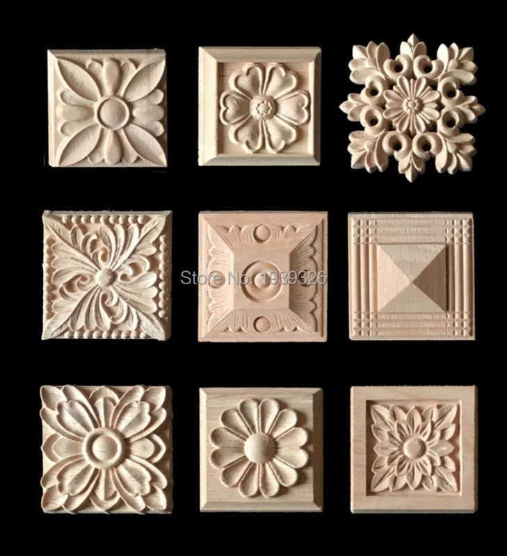 Online get cheap wood appliques alibaba for Applique furniture decoration