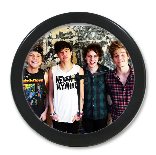 Original Home Decoration Customized One Direction Elegant Wall Clock Modern Design Watch Wall Free Shipping #we044(China (Mainland))