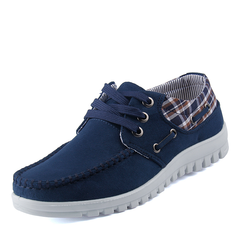 Free Shipping New Lightweight Breathable air cushion lace-up Men Casual Shoes Flat Sports Shoes Running shoes Sneakers(China (Mainland))