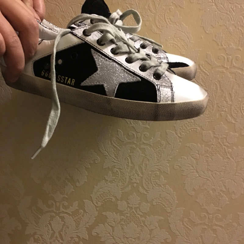 Golden goose fashion new woman's flats handmade flat skate boarding shoes vintage retro low women's ggdb casual shoes(China (Mainland))