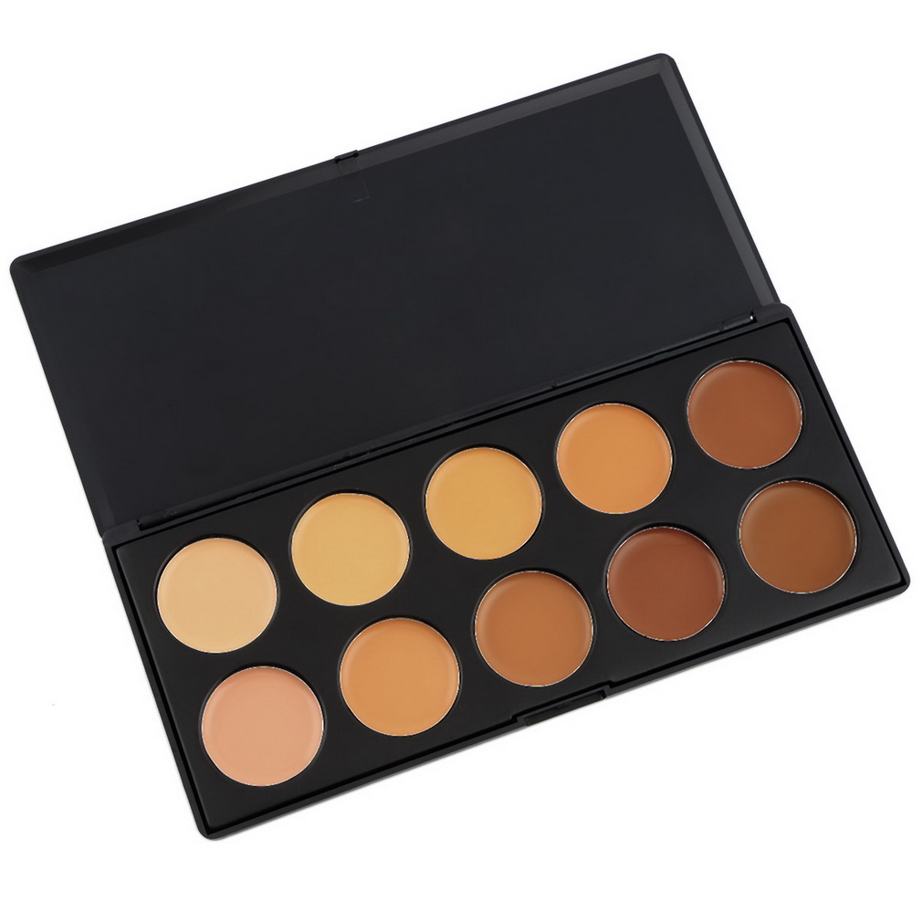 New Professional 10 Colors Concealer Facial Face Cream Care Camouflage Makeup Palettes Cosmetic Makeup