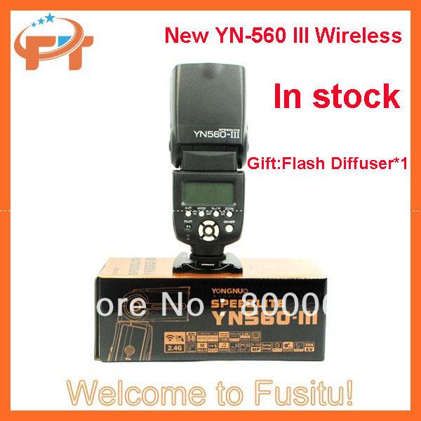 Yongnuo YN-560 III Wireless Flash Speedlite for Nikon D7000 D5200 D5100 D5000