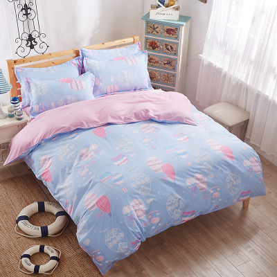 Fashion Bedding set 4pcs cartoon paw patrol kids Twin size Single bed Duvet cover set Polyester Bedsheet Quilt Cover set(China (Mainland))