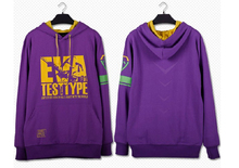 New Free Shipping Sweater Outwear EVA Neon Genesis Evangelion 01-TEST TYPE Anime Cosplay Coat Hoodies