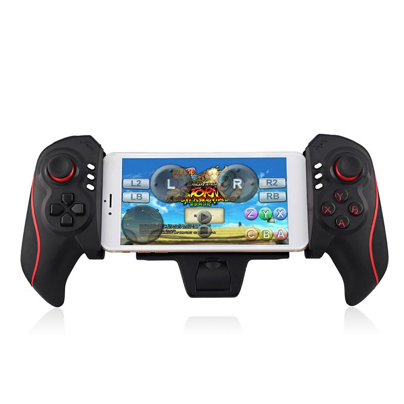 Wireless Bluetooth Game Controller Telescopic Joystick Gamepad Game Pad For iPhone Samsung Sony Tablet PC TV Box CXF376(China (Mainland))