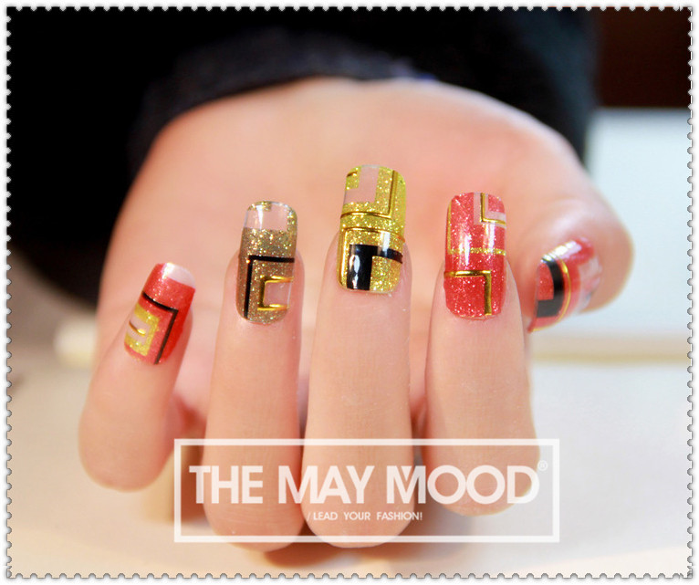 $2 hot sale high quality 3d nail stickers sexy Egypt style nail decoration Full $5 Free shipping nails art(China (Mainland))
