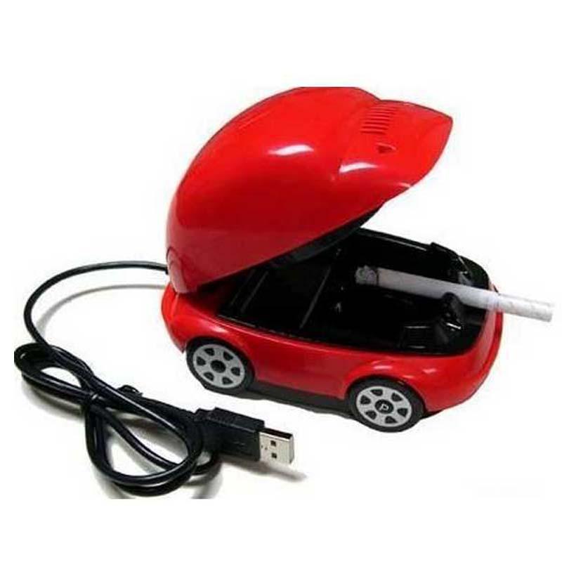 New Smokeless Ashtray USB Active Carbon Filter Smokeless Ashtray,smokeless car ashtray(China (Mainland))