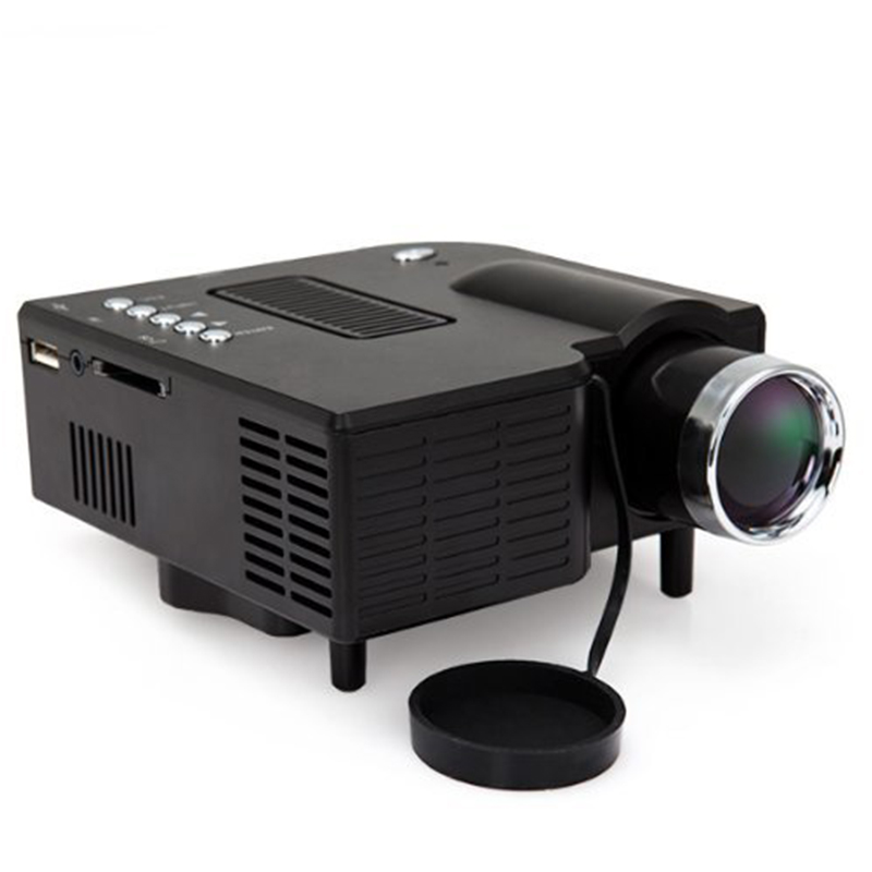 Uc28 mini projector led portable projector home theater for Portable projector for laptop