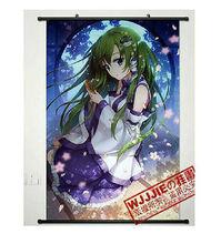 Anime Touhou Project Kochiya Sanae Green Home Decor Anime Poster Wall Scroll