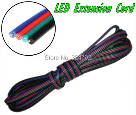 100m 4pins LED RGB strip light cable wire extension cord - SHEN ZHEN ROYAL TRADE CO.,LTD store