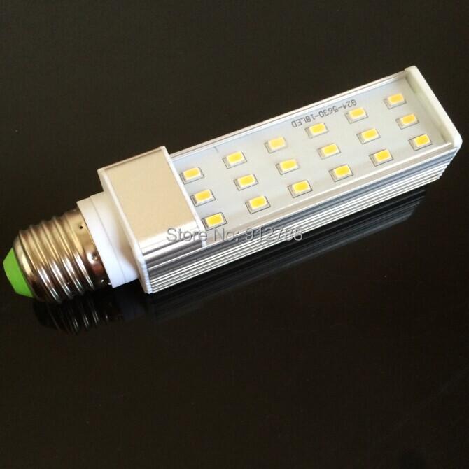 10pcs/Lot 2014  High Power 11W 18led E27 PL LED Light Bulb AC85-265V Cold/ Warm White 5630smd Energy Saving Lamp<br><br>Aliexpress
