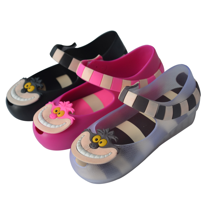 RIAROSA New Summer Kid's Sandals Monkey Baby Flat Shoes Pvc Soft Leather Shoe for chirlren(China (Mainland))