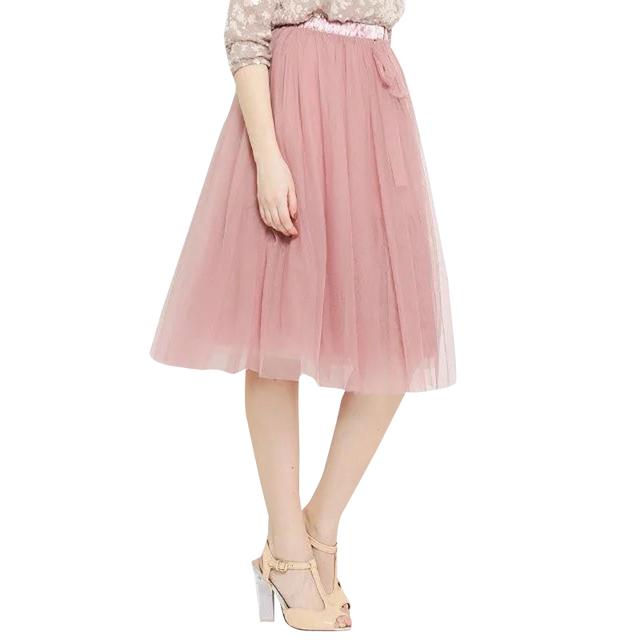 SB123 Корейский 2016 Лето Женщины Мода Элегантные Сетки Длиной До Колен Бальное платье ...