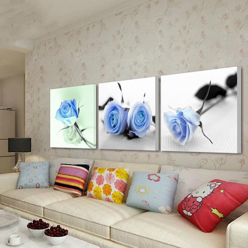 Vergelijk prijzen op blue rose pictures online winkelen kopen lage prijs blue rose pictures - Modulaire muur ...