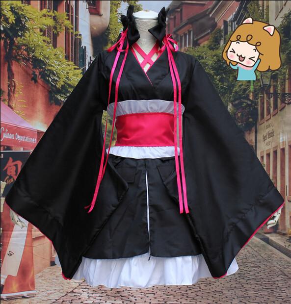 New Arrivals Hot Anime Unbreakable Machine-Doll Kimono Hot Sale Girls Sexy Kimono Ladies Hottest Cosplay Costume for Masquerade(China (Mainland))