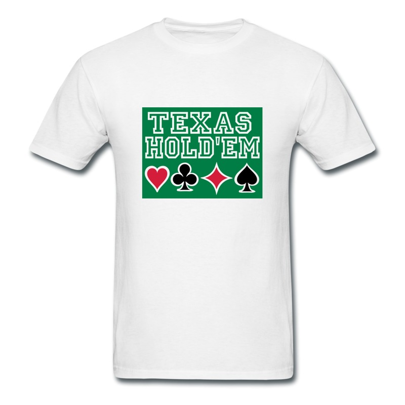 Texas holdem poker t-shirts