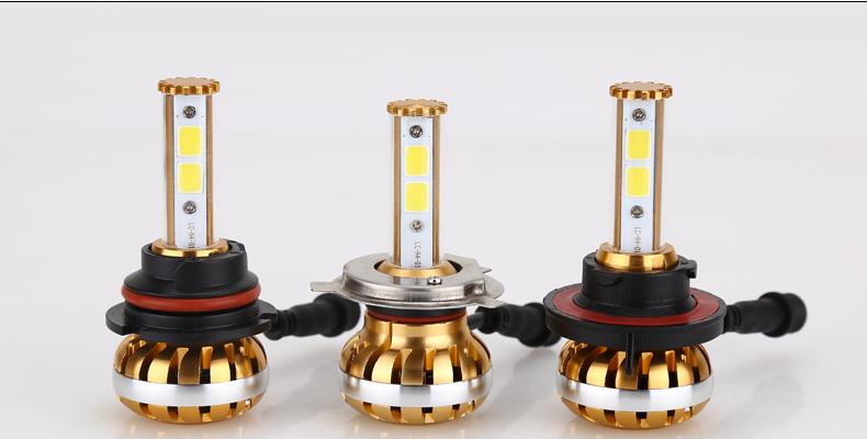 1Set DC8V-32V 120W 12000LM COB Chips Car LED Headlight kit H4 Hi Lo HB2 H4-3 P43T Lamp DRL Bulbs Canbus Car Lights 3000K 6000K<br><br>Aliexpress